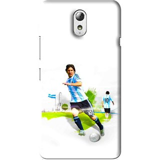 Snooky Printed Football Mania Mobile Back Cover For Lenovo Vibe P1M - Multi