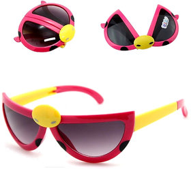 GoldenApple Foldable Eye Wear for Kids - 2 Pcs (Colour and Design May Vary)