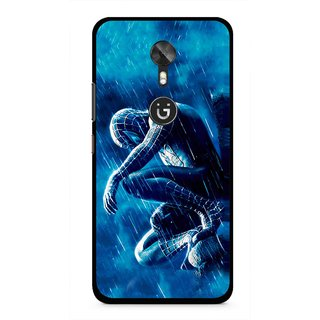 Snooky Printed Blue Hero Mobile Back Cover For Gionee A1 - Blue