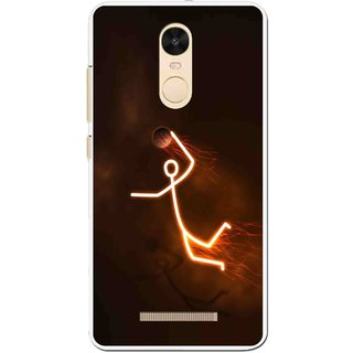 Snooky Printed Burning Man Mobile Back Cover For Gionee S6s - Brown