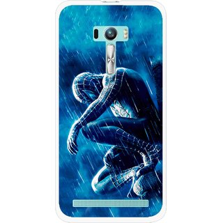 Snooky Printed Blue Hero Mobile Back Cover For Asus Zenfone Selfie - Blue