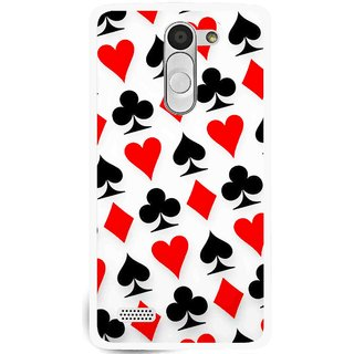 Snooky Printed Playing Cards Mobile Back Cover For Lg L Bello - Multi