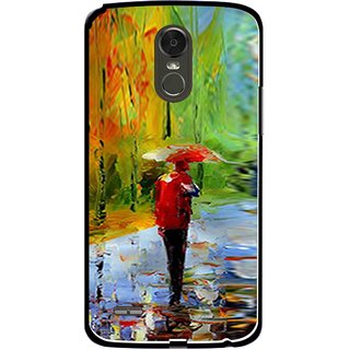 Snooky Printed Painting Mobile Back Cover For Lg Stylus 3 - Multi