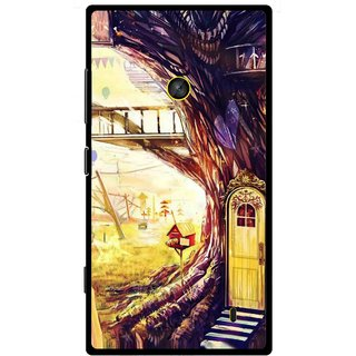 Snooky Printed Dream Home Mobile Back Cover For Nokia Lumia 520 - Multi
