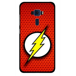 Snooky Printed Dont Touch Mobile Back Cover For Asus Zenfone 3 ZE520KL - Red