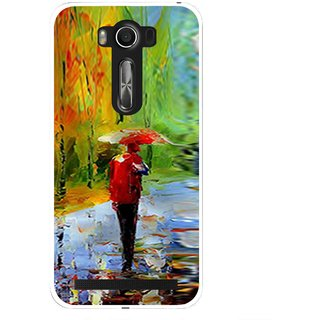 Snooky Printed Painting Mobile Back Cover For Asus Zenfone 2 Laser ZE500KL - Multi