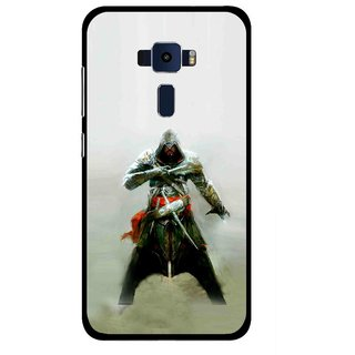 Snooky Printed The Thor Mobile Back Cover For Asus Zenfone 3 ZE520KL - Green