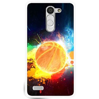 Snooky Printed Paint Globe Mobile Back Cover For Lg L Bello - Multi