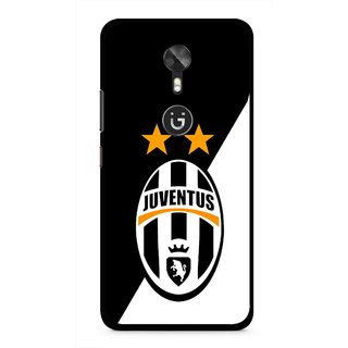 Snooky Printed Football Club Mobile Back Cover For Gionee A1 - Black