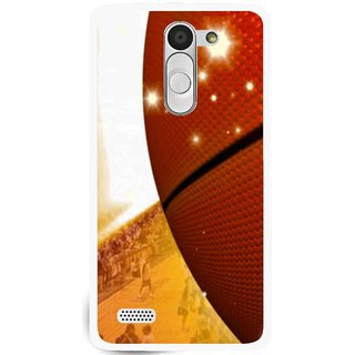 Snooky Printed Basketball Club Mobile Back Cover For Lg L Bello - Brown