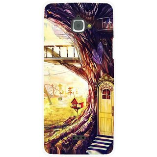 Snooky Printed Dream Home Mobile Back Cover For Infocus M350 - Multi