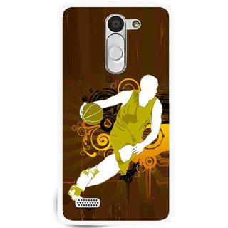 Snooky Printed Chamoins wins Mobile Back Cover For Lg L Bello - Brown
