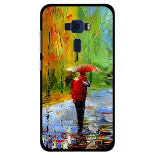 Snooky Printed Painting Mobile Back Cover For Asus Zenfone 3 ZE520KL - Multi