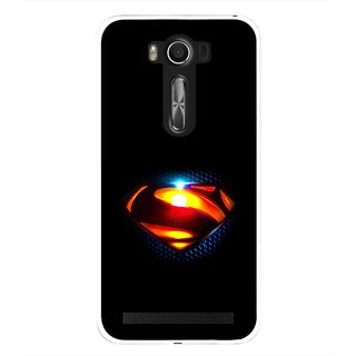 Snooky Printed Super Hero Mobile Back Cover For Asus Zenfone 2 Laser ZE500KL - Black