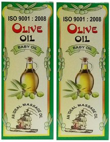 Olive Oil For Baby Massage - Natural Massage Oil For Baby (Pack Of 2)