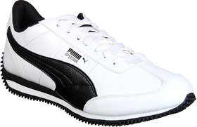Puma Men White Training & Gym Shoes