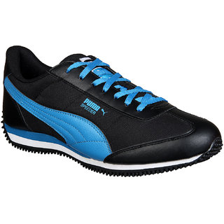 Puma Mens Velocity Tetron Black Running Shoes