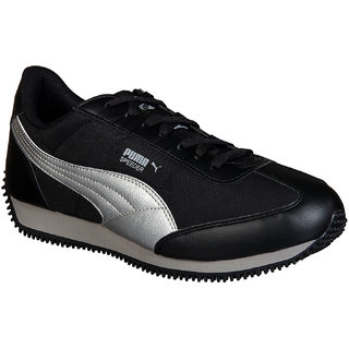 Puma Mens Speeder Tetron II Ind. Black Running Shoes
