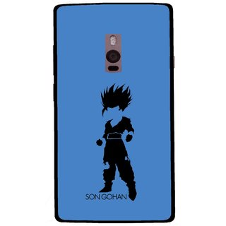 Snooky Printed Son Gohan Mobile Back Cover For OnePlus 2 - Multi