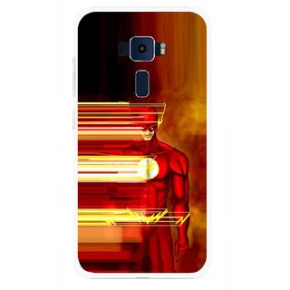 Snooky Printed Electric Man Mobile Back Cover For Asus Zenfone 3 ZE520KL - Multi
