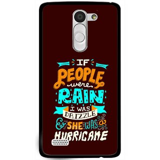 Snooky Printed Monsoon Mobile Back Cover For Lg L Bello - Multi
