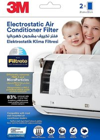 3M Electrostatic Air Conditioner Filters
