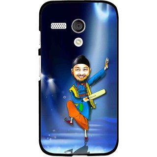 Snooky Printed Balle balle Mobile Back Cover For Moto G - Multi
