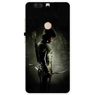 Snooky Printed Hunting Man Mobile Back Cover For Huawei Honor 8 - Multi