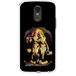 Snooky Printed Radha Krishan Mobile Back Cover For Lg Stylus 3 - Multi
