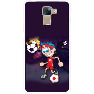 Snooky Printed My Game Mobile Back Cover For Huawei Honor 7 - Multi