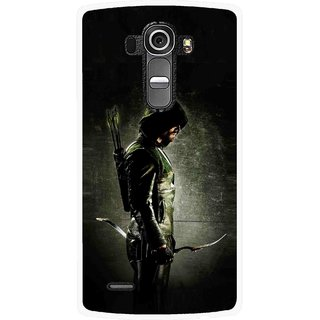 Snooky Printed Hunting Man Mobile Back Cover For Lg G4 - Multi
