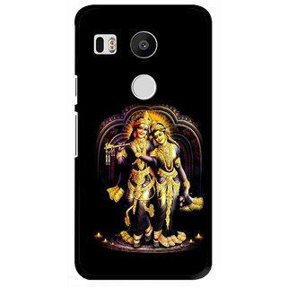 Snooky Printed Radha Krishan Mobile Back Cover For Lg Google Nexus 5X - Multi