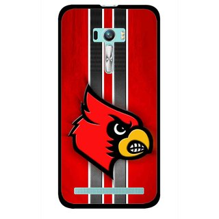 Snooky Printed Red Eagle Mobile Back Cover For Asus Zenfone Selfie - Multi