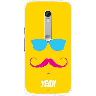 Snooky Printed Yeah Mobile Back Cover For Motorola Moto X Style - Multi