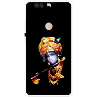 Snooky Printed God Krishna Mobile Back Cover For Huawei Honor 8 - Multi