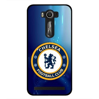 Snooky Printed Football Club Mobile Back Cover For Asus Zenfone 2 Laser ZE500KL - Multi
