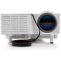 Callmate LED Portable Projector - White