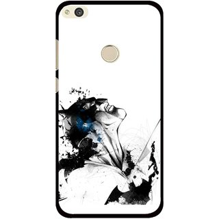 Snooky Printed Super Hero Mobile Back Cover For Huawei P8 Lite (2017) - Multi