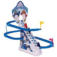 Funny Penguin Battery Operated Race Toy(Multicolor)