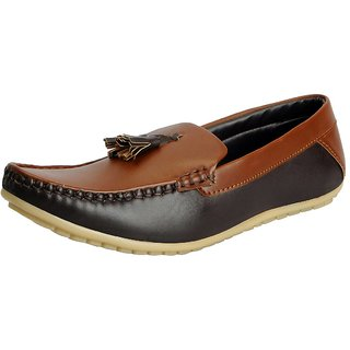 FAUSTO Camel Mens Loafers