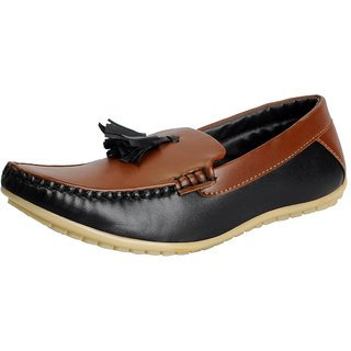 FAUSTO Tan Mens Loafers