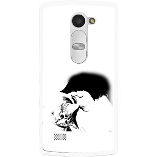 Snooky Printed Pet Lover Mobile Back Cover For Lg Leon - Multi