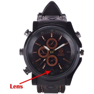 M MHB SPY Wrist watch Hidden audio/video Recording. While recording no light Flashes. Sports Wrist Watch Camera Inbuild 4gb Memory .Original Brand Only Sold by M MHB