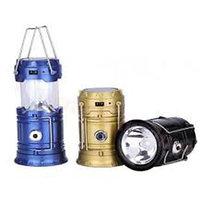 Solar Led Emergency Light Lantern + USB Mobile Charger, 3 Power Source Solar, Battery, Lithium Battery, Travel Camping