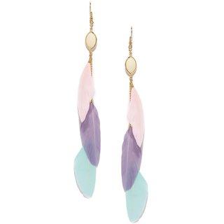Tipsyfly Party Wear Pastel Perfect  Earrings For Women