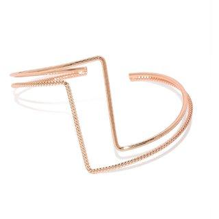 Tipsyfly Party Wear Heartbeat Cuff Bracelet For Women