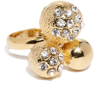 Tipsyfly Party Wear Gold Ball Haathphool And  Set Haathphool For Women
