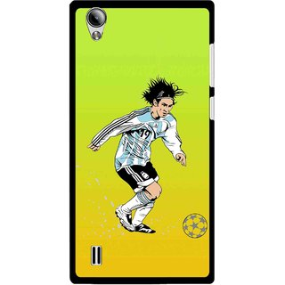 Snooky Printed Focus Ball Mobile Back Cover For Vivo Y15 - Multi