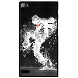 Snooky Printed Dance Mania Mobile Back Cover For Blackberry Z3 - Multi