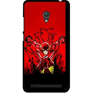 Snooky Printed Super Hero Mobile Back Cover For Asus Zenfone 5 - Multicolour